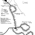 Shabbona Lake State Park FREE Campground Map