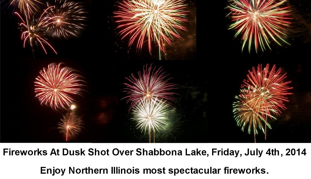 Shabbona Lake Fireworks